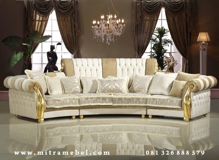 Kursi Sofa Mewah 4 Seater
