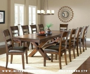 Set Meja Makan Keluarga Besar