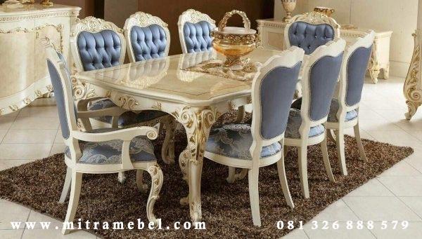 Set Meja Makan Mewah Elegant