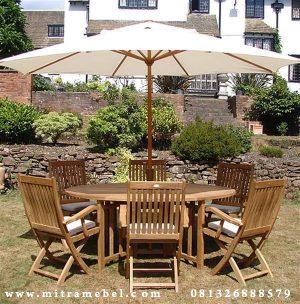 Set Meja Payung Elegant