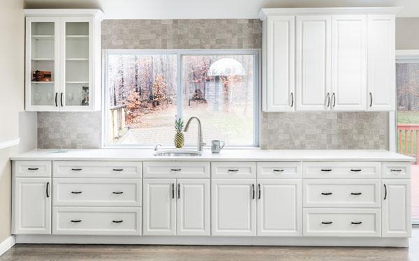 Lemari Dapur Minimalis Putih