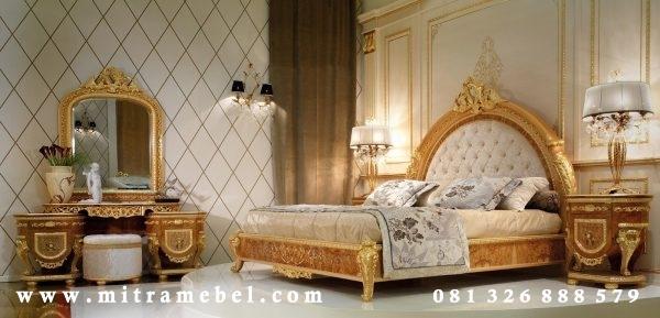 Set Kamar Tidur Luxury Gold