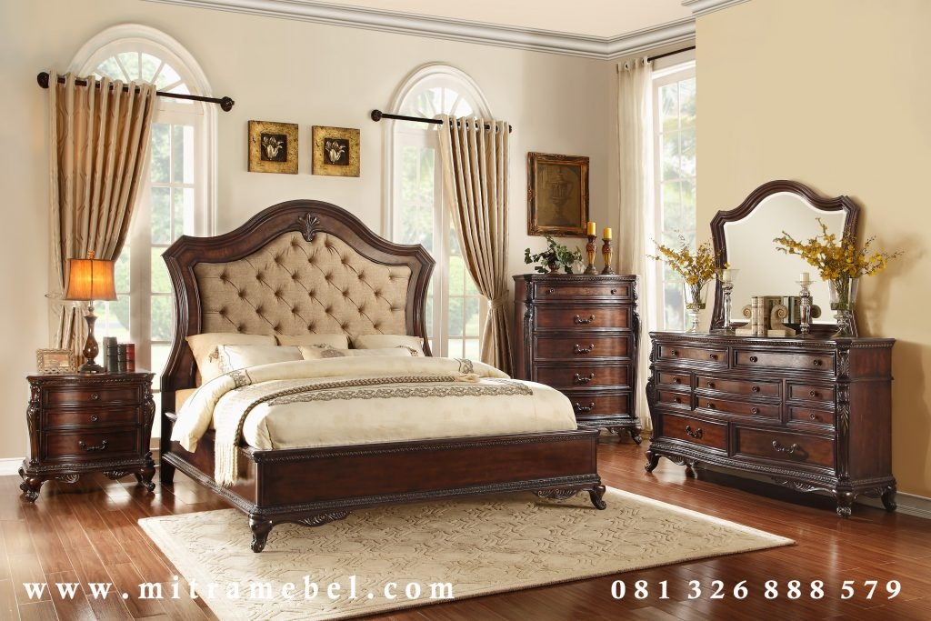 Set Kamar Tidur Elegant Jati