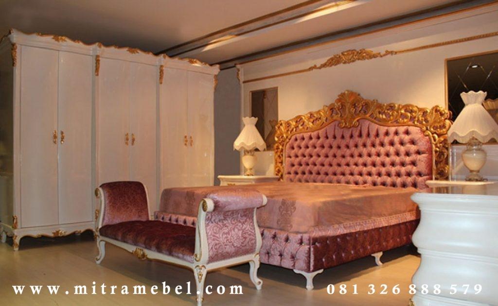 Kamar Tidur Mewah Ukiran Furniture