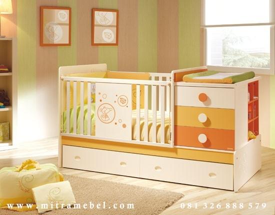 Dipan Bayi Minimalis Warna-Warni