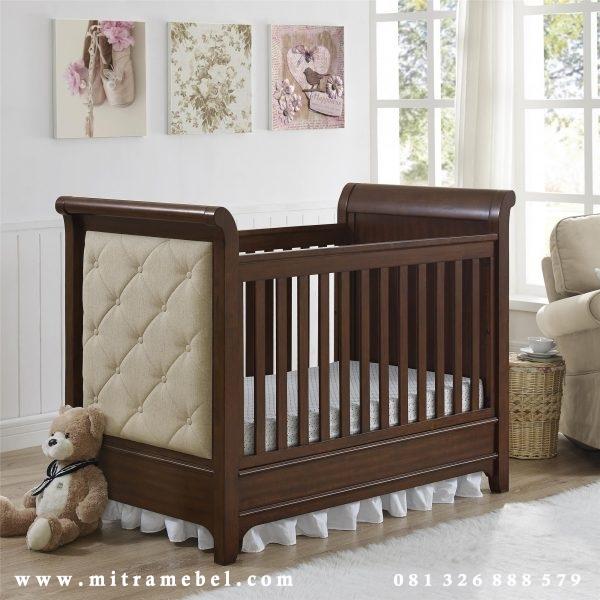 Dipan Bayi Minimalis Jati