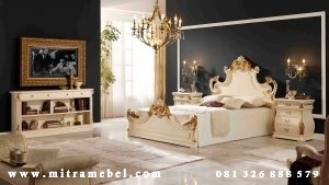 Set Kamar Tidur Mewah Elegant