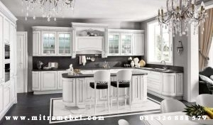 Kitchen Set Putih Duco