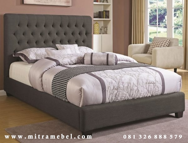 Tempat Tidur Dipan Minimalis Black