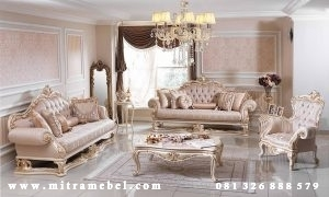 Set Kursi Sofa Tamu Furniture Luxury