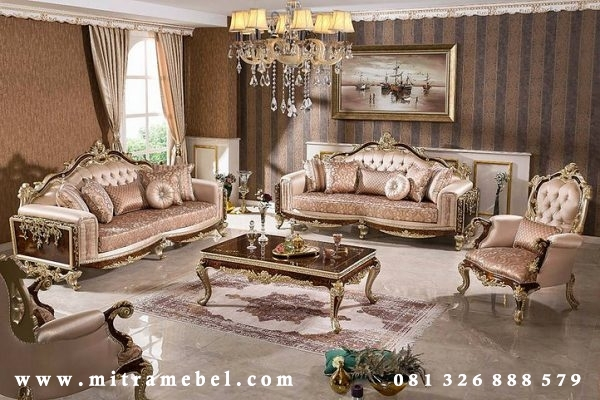 Set Kursi Sofa Tamu Furniture Luxury