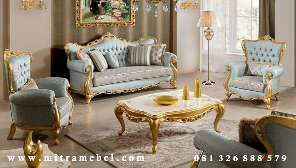 Set Sofa Ruang Tamu Furniture Luxury