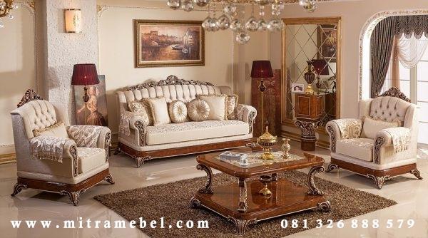 Set Kursi Sofa Ruang Tamu Luxury