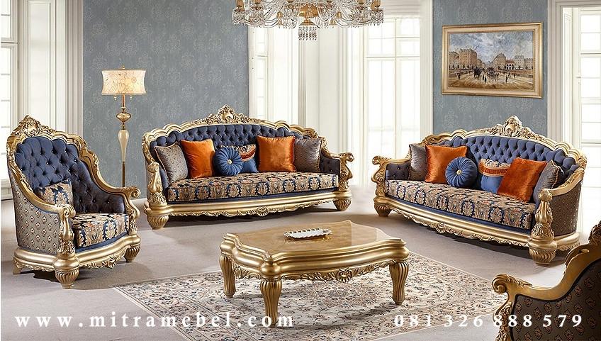 Set Kursi Sofa Ruang Tamu Luxury Furniture