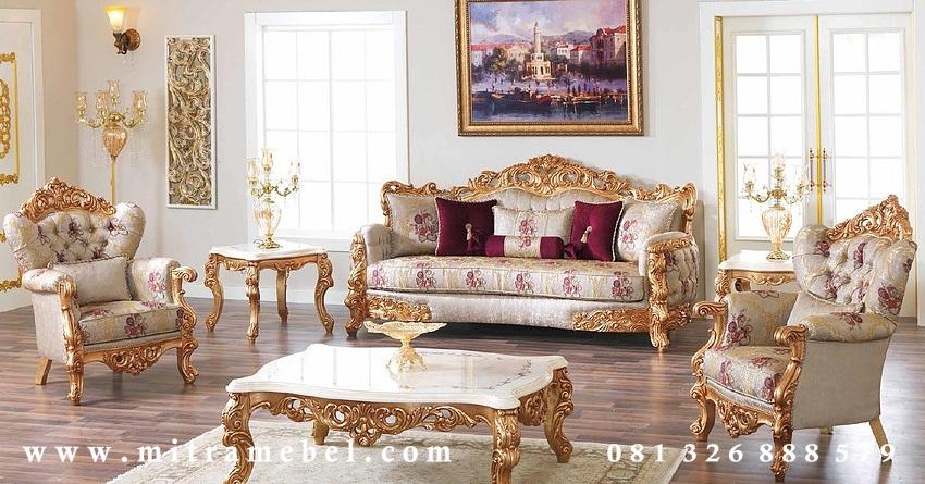 Set Kursi Ruang Tamu Luxury Furniture