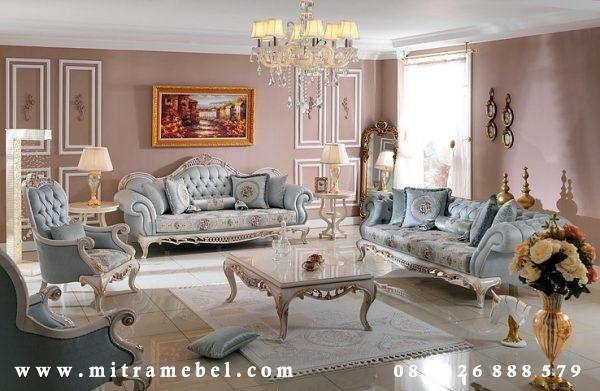 Set Kursi Ruang Tamu Furniture Luxury