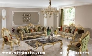 Set Kursi Sofa Ruang Tamu Luxury