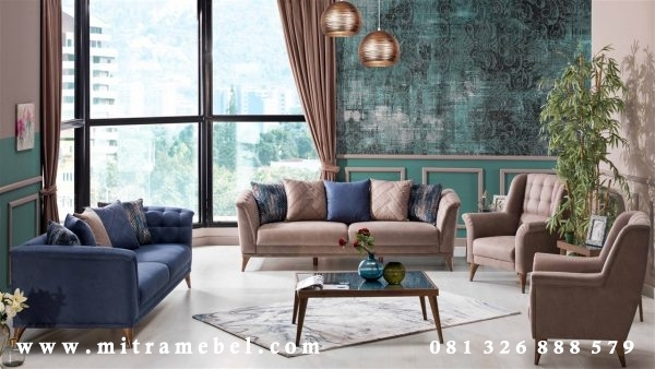 Set Kursi Tamu Sofa Minimalis Modern