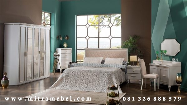 Set Kamar Tidur Minimalis Elegant Duco