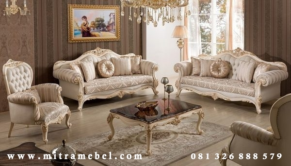 Set Kursi Tamu Luxury Sofa Elegant