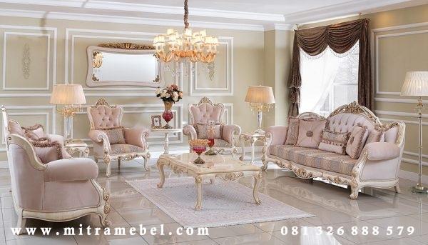 Kursi Tamu Sofa Luxury Elegant