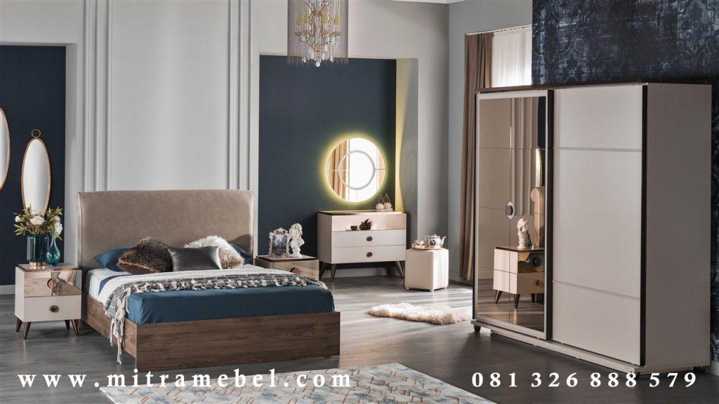 Set Kamar Tidur Elegant MinimalisSet Kamar Tidur Elegant Minimalis