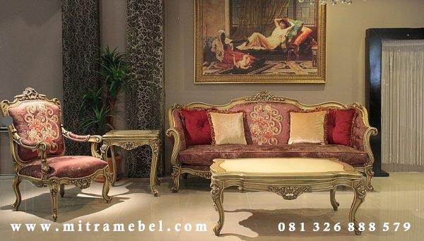 Set Kursi Sofa Tamu Elegant