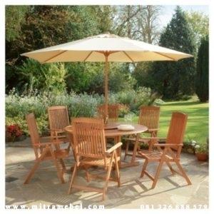 Set Meja Kursi Payung