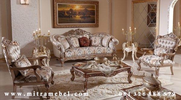 Set Kursi Tamu Sofa Luxury Elegant