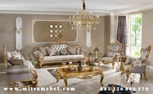 Set Kursi Tamu Sofa Elegant Luxury