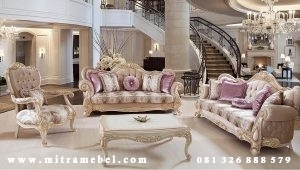 Set Kursi Tamu Sofa Luxury Furniture
