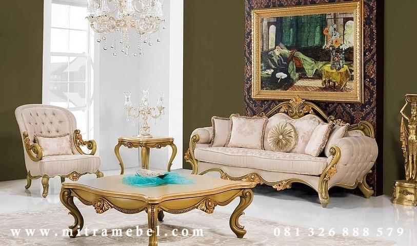 Set Kursi Sofa Luxury Furniture