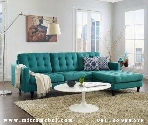 Kursi Sofa Tamu Minimalis L Terbaru