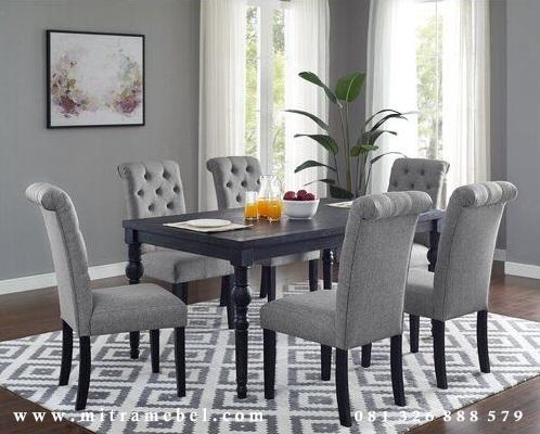 Set Meja Makan Minimalis Modern Sofa