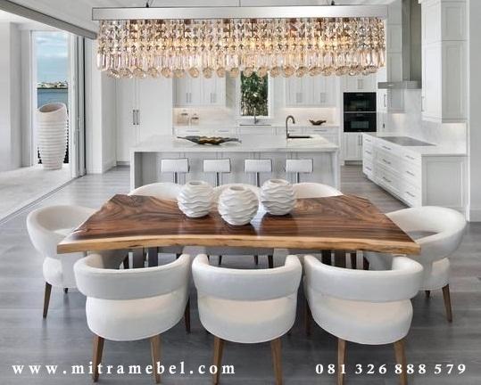 Set Meja Makan Elegant Furniture Jepara