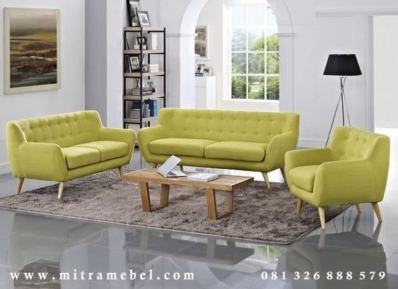 Kursi Sofa Tamu Minimalis Scandinavian
