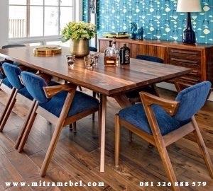 Set Meja Makan Terbaru Minimalis Keluarga