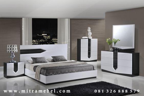 Set Kamar Tidur Minimalis Kolombia