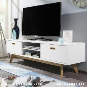 Bufet Tv Minimalis Cat Duco Furniture Jepara