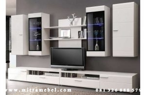 Set Bufet Tv Minimalis Dinding