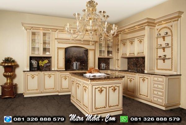 Kitchen Set Dapur mewah Elegant Terbaru