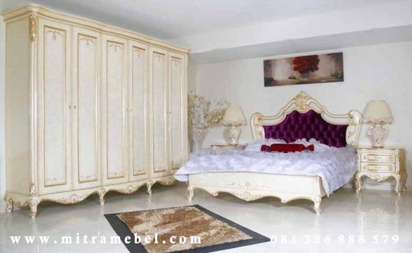 Set Kamar Tidur Mewah Elegant bedroom luxury